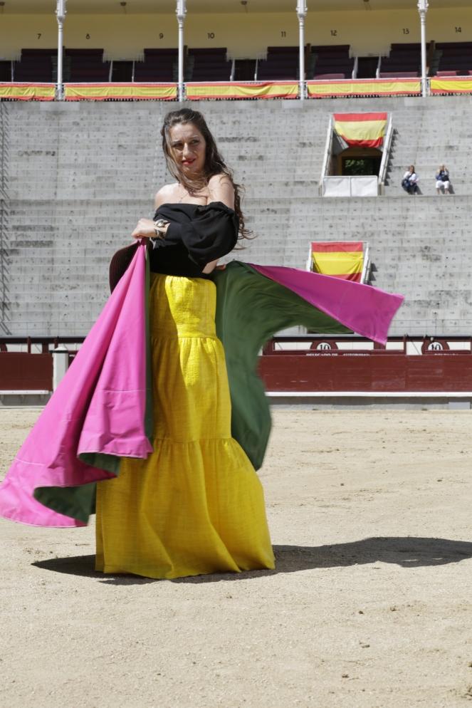Por Mikel Masa en pza. de las Ventas de Madrid. junio 2015. Dirección artística y estilisto: Katy Mikhailova