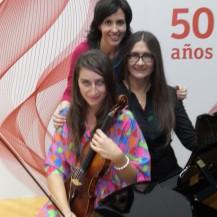 Yo con Eva y mi madre Victoria
