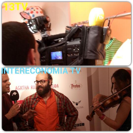 INTERECONOMIA TV y 13 TV cubrieron el evento para el telediario de la noche