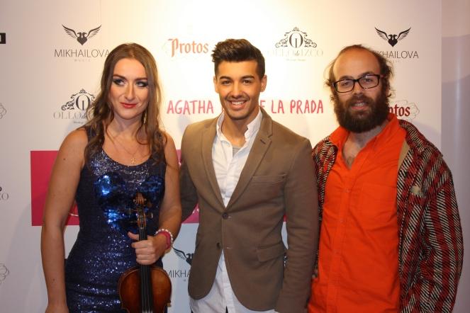 Con Jorge y Tristán