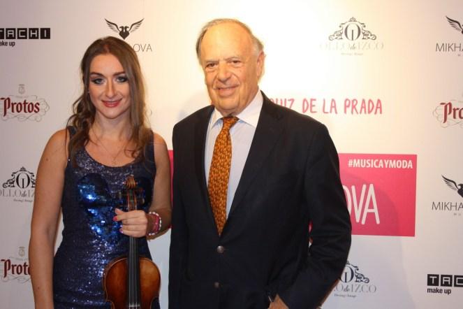 Junto a Carlos Falcó