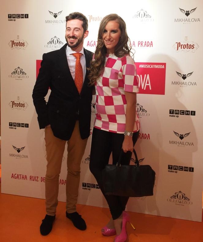 Jose Angel Ollo y Katy Mikhailova
