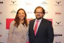 MAMEN CRESPO, REDACTORA-JEFE DE 'GENTE', Y LUIS MIGUEL TORRES CONCEJAL DE ALCOBENDAS