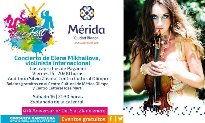 MERIDA FEST CON ELENA MIKHAILOVA