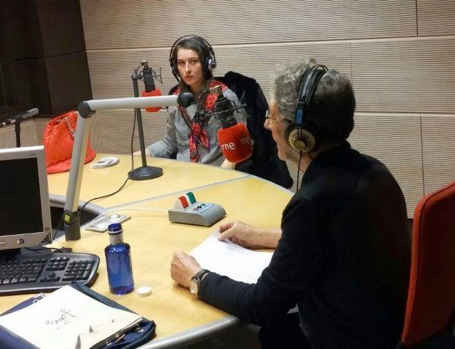 elena mikhailova en rne radio cinco- musica y moda- violinista-sarasate