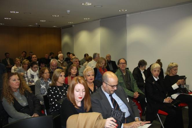 80 personas acudieron a la FUNDACION PONS para escuchar a ELENA MIKHAILOVA