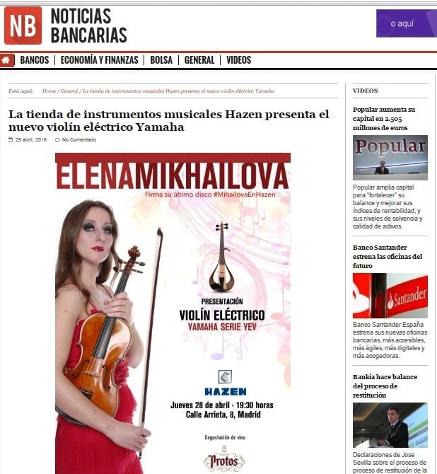 elena mikhailova- noticias bancarias- hazen- yamaha yev- protos