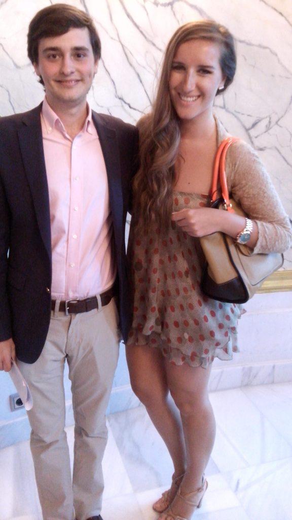 Alvaro Ortega de MAS VIDA y Katy Mikhailova